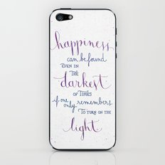 Happiness can be found iPhone & iPod Skin