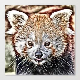 Impressive Animal - red Panda Canvas Print
