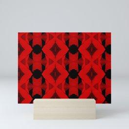 POPPY PATTERN Mini Art Print