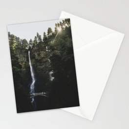 Pacific Northwest Series - Multnomah Falls, Oregon Stationery Cards