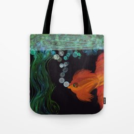 Goldfish In the Pond Tote Bag
