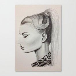 Iggy Azalea Canvas Print