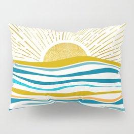 Sunrise At Sea Pillow Sham