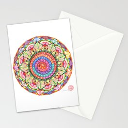 ROOT CHAKRA MADALA Stationery Cards