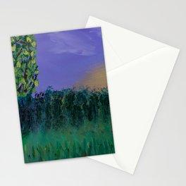 Backyard Sunrise Stationery Cards