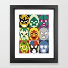 Lucha Libre 1 Framed Art Print