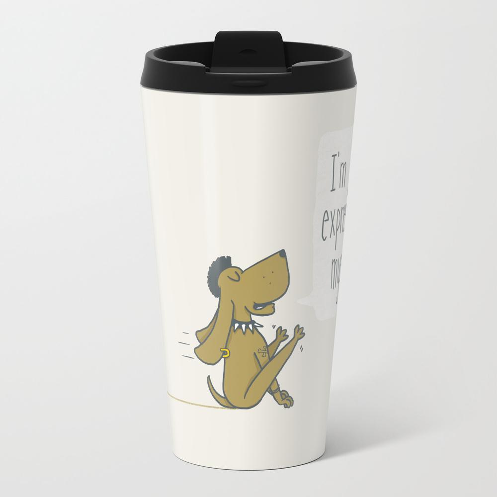 Dog Expression Travel Mug TRM870363
