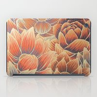 lotus flower iPad Cases featuring Lotus by Jess Moore