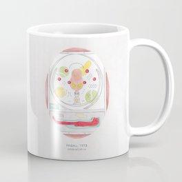 Haruki Murakami's Pinball, 1973 // Illustration of a Pachinko Machine in Watercolour and Pencil Coffee Mug