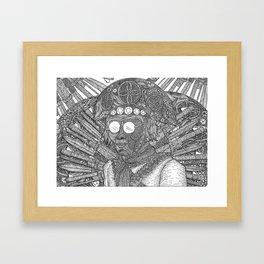 Lampião Framed Art Print