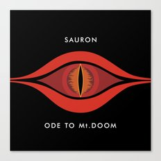 Ode To Mt. Doom Canvas Print