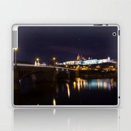 Prague castle at night. Laptop & iPad Skin