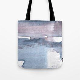 Dark gray colorful watercolor texture Tote Bag