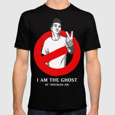 I am the Ghost Black Mens Fitted Tee MEDIUM