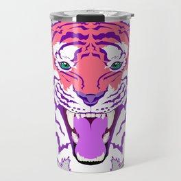 Pink Endangered Travel Mug