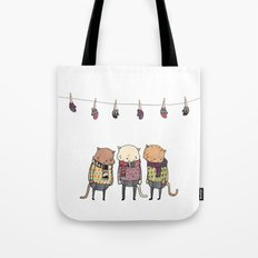Lost Mittens Tote Bag