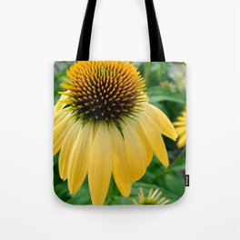 Yellow Echinacea/Coneflower Tote Bag