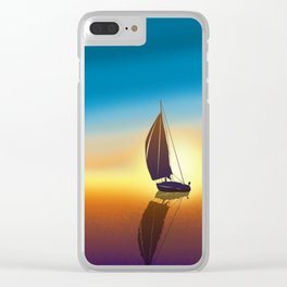 Beautiful Day Clear iPhone Case