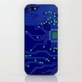 Electronics board iPhone Skin