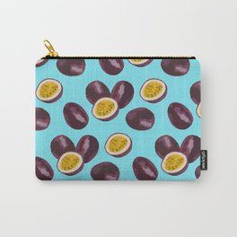 Live your passion on blue Carry-All Pouch