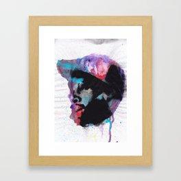 J Dilla - Mystique in Music Framed Art Print