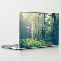 rustic Laptop & iPad Skins featuring Inner Peace by Olivia Joy StClaire