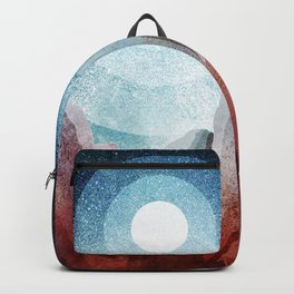 A rocky world Backpack