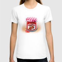 fig T-shirts featuring FIG JAM by Vin Zzep