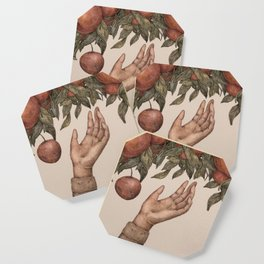 Apple Picking Coaster