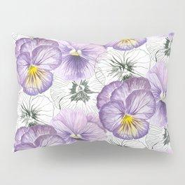 Pansy pattern Pillow Sham