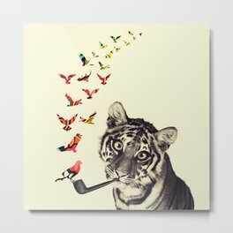 This is Not a Tiger Metal Print