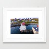 norway Framed Art Prints featuring Norway by Les imprimés de Michèle