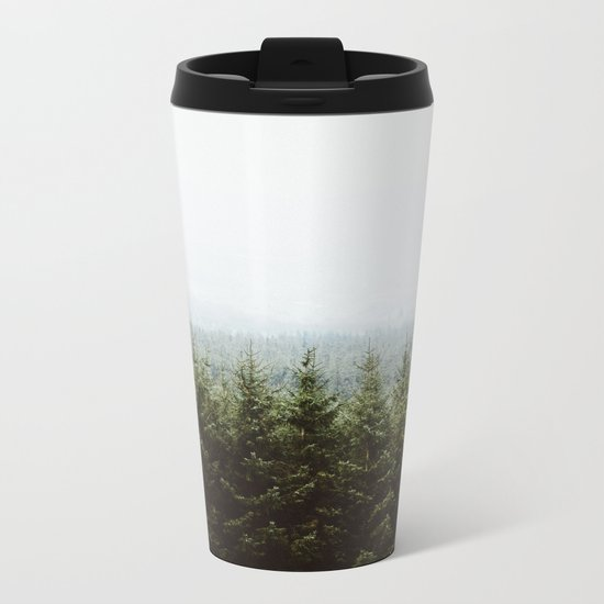 Beyond The Pines Metal Travel Mug