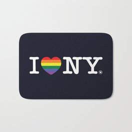 I Love New York Bath Mat