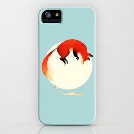 Fox jump iPhone Case