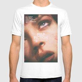 Pulp Fiction, Quentin Tarantino, alternative movie poster, Uma Thurman, Mia Wallace T-shirt