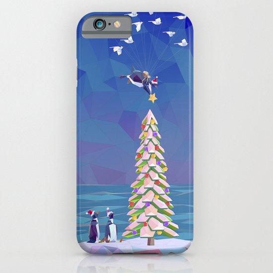 Christmas Flight iPhone & iPod Case