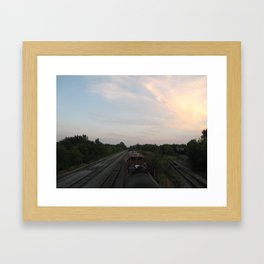 Trillium Railways Framed Art Print