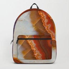 Rusty Amethyst Agate Backpack