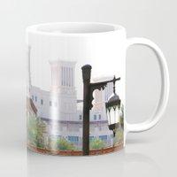 arab Mugs featuring Dubai - Outside Burj Al Arab by gdesai