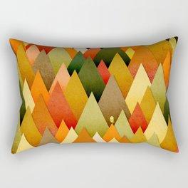 071 – deep into the autumn forest texture II Rectangular Pillow