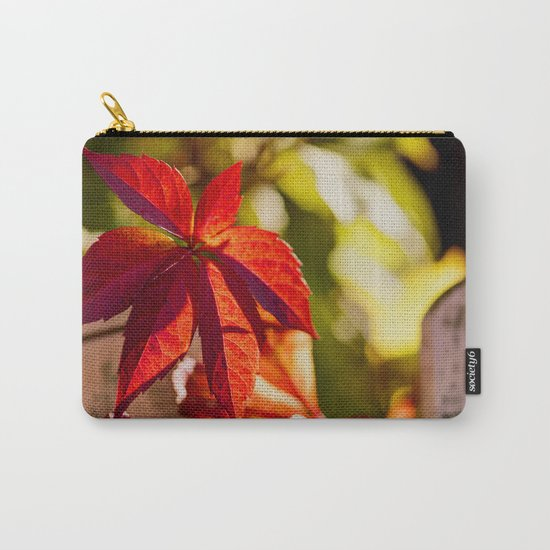 Red Autumnlights- Indian Summer VI Carry-All Pouch