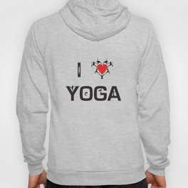 I heart Yoga Hoody