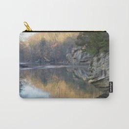 Sugar Creek and Cliffs Carry-All Pouch