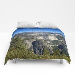 Half Dome Nevada Falls Vernal Falls Comforters