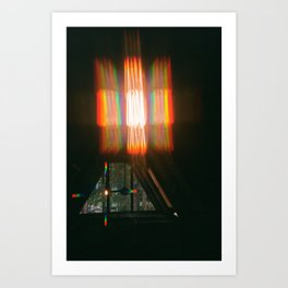 Rainbows in the Rafters Art Print