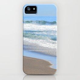 Baby Blue Ocean iPhone Case