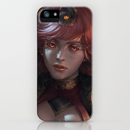Lux Fire Element iPhone Case