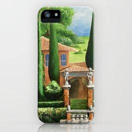 Villa of Lago d' Como iPhone Case