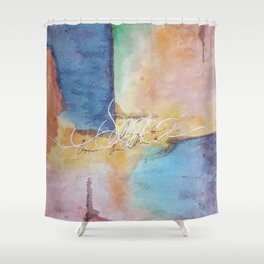 Unfathomable Shower Curtain